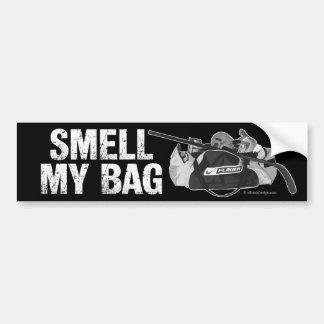 Huela mi bolso pegatina para auto