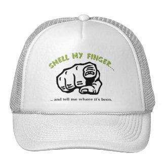 Huela mi dedo gorras de camionero