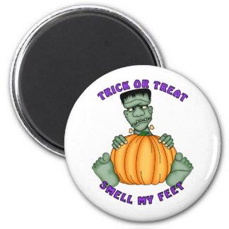 Huela mis pies Halloween Imán