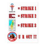 Huelga 3 - ¡U R HACIA FUERA!!! Postal