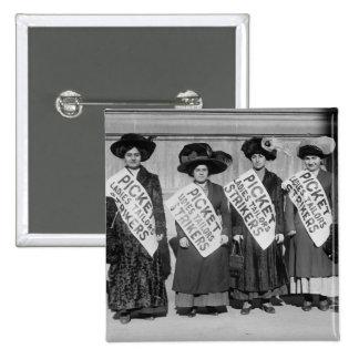 Huelga de los sastres de las señoras, 1910 pin