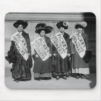 Huelga de los sastres de las señoras, 1910 alfombrillas de raton