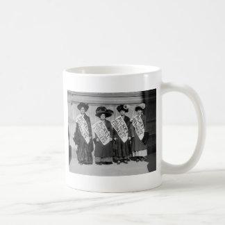 Huelga de los sastres de las señoras, 1910 tazas de café