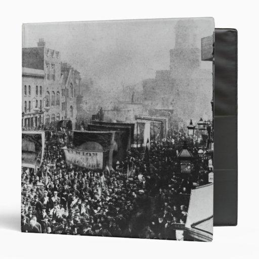 Huelga de muelle de Londres, 1889