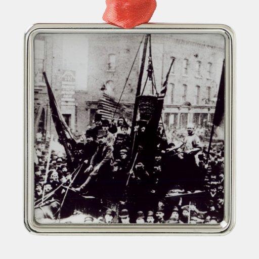 Huelga de muelle de Londres, 1889 2 Ornamentos De Reyes Magos