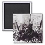 Huelga de muelle de Londres, 1889 2 Imán Cuadrado