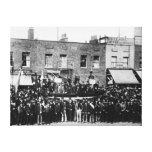Huelga de muelle de Londres, 1889 2 Impresión En Lona Estirada