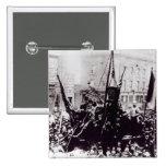 Huelga de muelle de Londres, 1889 2 Pin Cuadrado