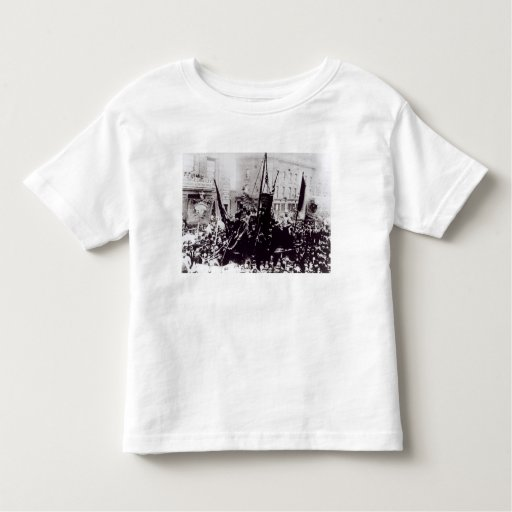 Huelga de muelle de Londres, 1889 2 Playera De Bebé