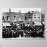 Huelga de muelle de Londres, 1889 2 Póster