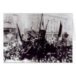 Huelga de muelle de Londres, 1889 2 Tarjetón