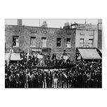 Huelga de muelle de Londres, 1889 Felicitación