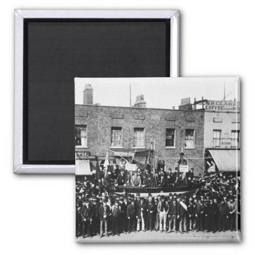 Huelga de muelle de Londres, 1889 Iman De Frigorífico