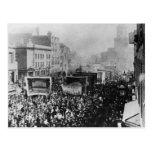Huelga de muelle de Londres, 1889 Postal