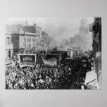 Huelga de muelle de Londres, 1889 Posters