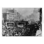 Huelga de muelle de Londres, 1889 Tarjeta De Felicitación