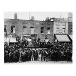 Huelga de muelle de Londres, 1889 Tarjeta Postal