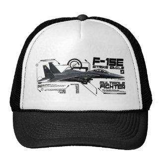 Huelga Eagle de F-15E Gorro De Camionero