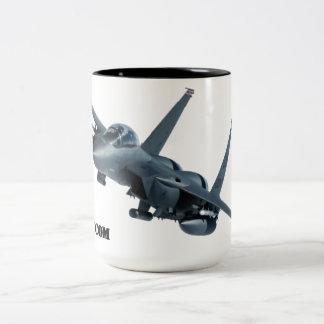Huelga Eagle Drinkware de F-15E Taza De Café