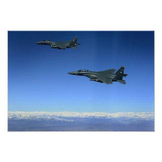Huelga Eagles 2 de la fuerza aérea de los E.E.U.U. Cojinete