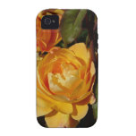 Huelga grandiflora del rosa él rico iPhone 4/4S fundas