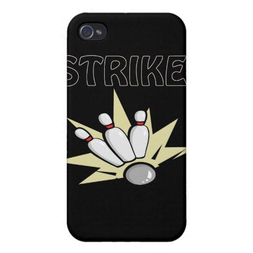 Huelga iPhone 4 Protectores