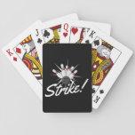 ¡huelga que rueda! cartas de póquer