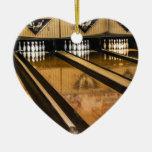 Huelgas y repuestos adorno de cerámica en forma de corazón