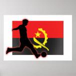 Huelguista 2 del fútbol de Angola Póster