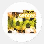 Huelguista de SocceriGuide Pegatinas