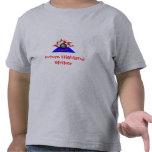 Huelguistas, huelguista futuro de la montaña camisetas