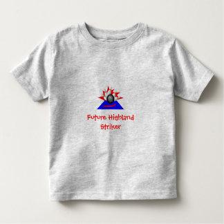 Huelguistas, huelguista futuro de la montaña playera de niño