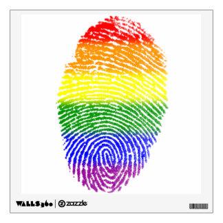 Huella dactilar de LGBT