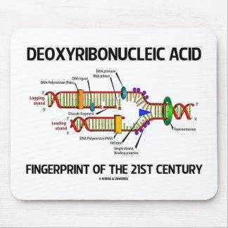 Huella dactilar del ácido desoxirribonucléico del tapetes de ratones