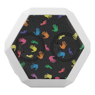 Huella de Handprint multicolora Altavoces Bluetooth Blancos Boombot REX