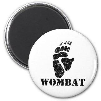 Huella de Wombat Imán Para Frigorífico