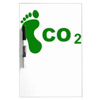 Huella del CO2 Pizarra