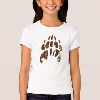 Huella Handprint Disney del oso de Brother Playera