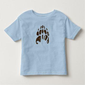 Huella Handprint Disney del oso de Brother Playera De Bebé