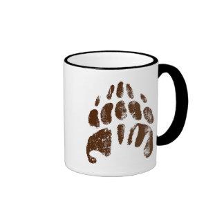 Huella Handprint Disney del oso de Brother Taza De Café