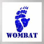 Huella III de Wombat Posters