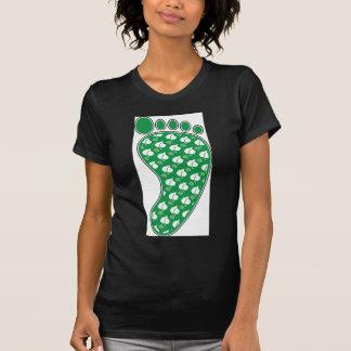 Huella verde camiseta
