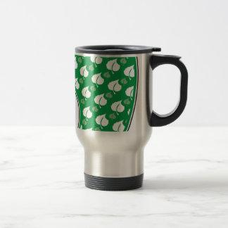 Huella verde taza de viaje