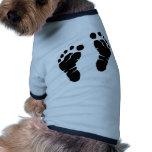 Huellas Camisa De Mascota