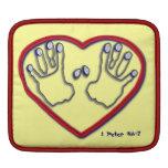 Huellas dactilares de dios - 1 5:6 de Peter - 7 Fundas Para iPads