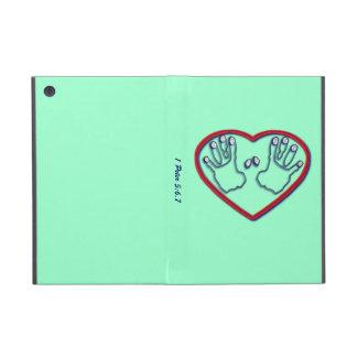Huellas dactilares de dios - 1 5:6 de Peter - 7 iPad Mini Cobertura