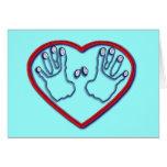 Huellas dactilares de dios - 1 5:6 de Peter - 7 Tarjeta De Felicitación
