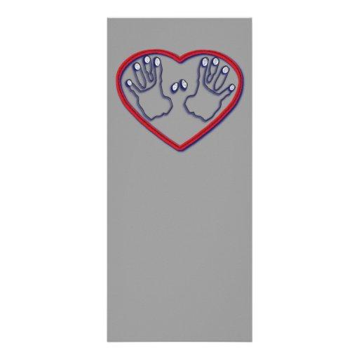 Huellas dactilares de dios - 1 5:6 de Peter - 7 Tarjeta Publicitaria
