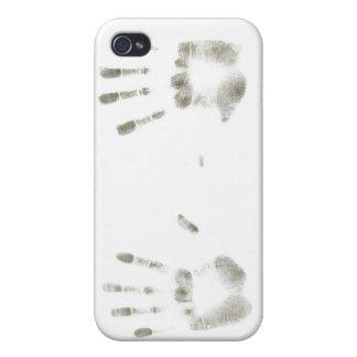 huellas dactilares iPhone 4/4S fundas