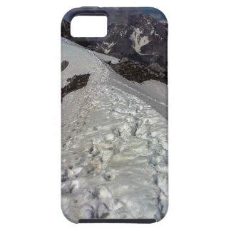 Huellas de la montaña Nevado Funda Para iPhone SE/5/5s